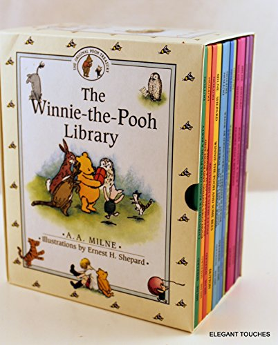 The Winnie-The-Pooh Library (12 books)
