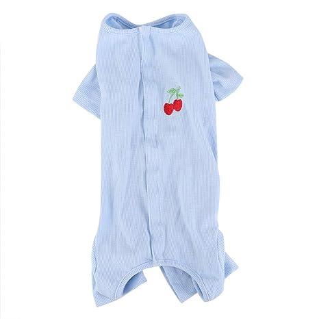 Mono para Perro Suave Mascota Pijamas Gato Transpirable ...