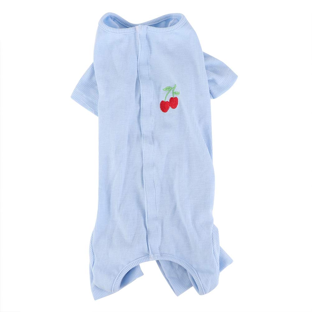 Hffheer Dog Jumpsuit Soft Comfortable Pet Pajamas Breathable Dog Sleepwear Cute Cat Dog Leisure Clothes Comfy Pet…