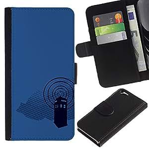 All Phone Most Case / Oferta Especial Cáscara Funda de cuero Monedero Cubierta de proteccion Caso / Wallet Case for Apple Iphone 6 // Dr Wh0 Telephone Booth