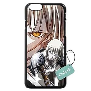 "iPhone 6 Plus Case, Onelee [Scratch Resistant] Japanese Anime Series Claymore Logo iPhone Plus 5.5"" Case, Black Hard Plastic Case for iPhone 6 Plus"