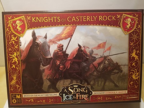 CMON a Song of Ice & Fire Miniatures Game: Knights of Casterly Rock (Songs Rock)