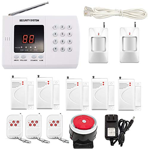 iMeshbean Wireless PSTN PIR Home Security Burglar Alarm System Auto Dialing Dialer K05 99 Zones USA