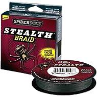 [Sponsored]Spiderwire SCS15G-125 Braided Stealth Superline, Moss Green, 15 Pound, 125 Yards