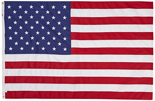 All Star Flags 4x6 Feet 2-ply Polyester American Flag ()