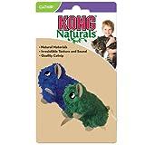 KONG Naturals Natural Mice Catnip Toy, Colors Vary, 2-Pack