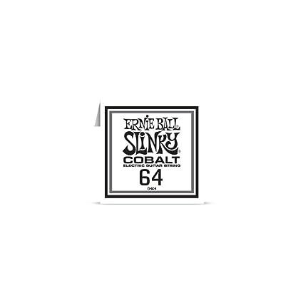 Ernie Ball 10464 – Cuerda AU détail guitarra eléctrica Slinky Cobalt – filé redondo 064