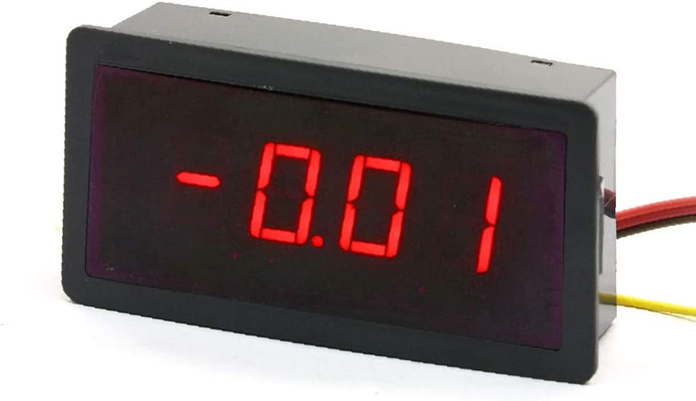 28a-03-eb-0a7 X-DREE DC50A//75mV Type Four high performance Digits Red LED essential Display Digital Screen well made DC Ammeter
