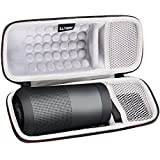 LTGEM Case for Bose SoundLink Revolve Bluetooth Speaker with Mesh Pocket-Black