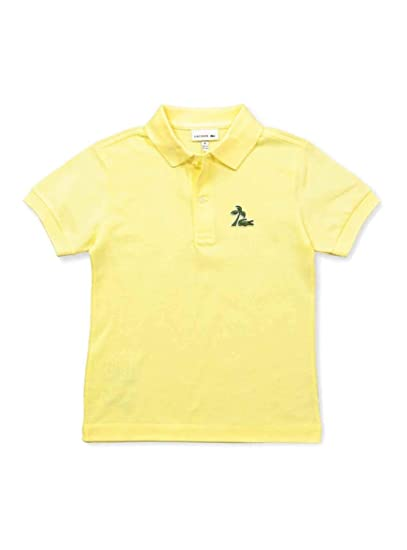 Lacoste Polo Palm Amarillo Niño 10A Amarillo: Amazon.es: Ropa y ...