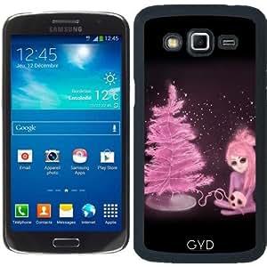Funda para Samsung Galaxy Grand 2 (SM-G7105) - Intercosmic Navidad En Color De Rosa by Rouble Rust