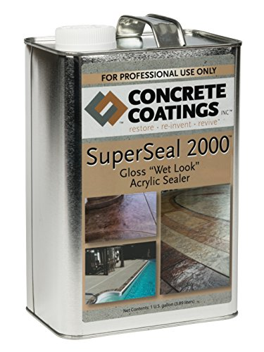 SuperSeal 2000 by Concrete Coatings (Concrete Kit Stain)