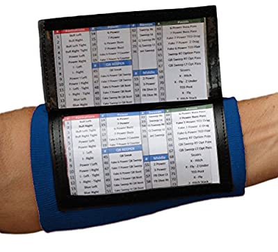 Playbook Wristband - Wrist Coach x200(Adult) 10 Pack (Navy)