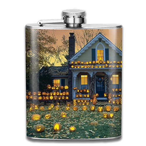 Fashion print Pattern Hip Flask - Cool Stainless