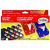 Testors 9185 Model Car Acrylic Paint Pot Set