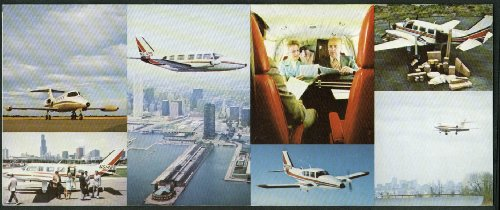 (Astec Flyers air taxi airline folder NY Metro & Satellite airports)