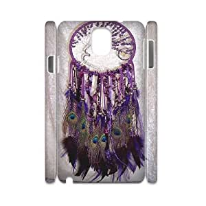 Personalized Feather Dream 3D Phone Case, Customized Hard Back Case Cover for Samsung Galaxy Note 2 N7100 Feather Dream