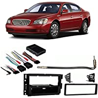 Fits Buick Lucerne 2006-2011 Single DIN Stereo Harness Radio Install Dash Kit
