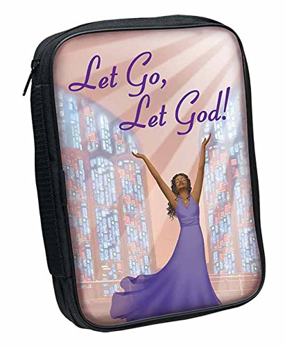 Covers African Bible (African American Bible Cover: Let Go, Let God)