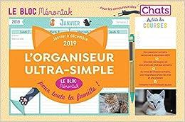 Le bloc Mémoniak Chats 2019