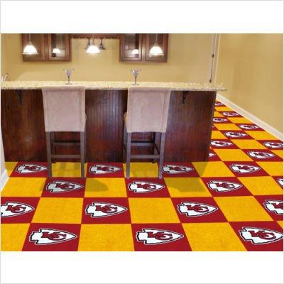 NFL - Kansas City Chiefs Carpet Tiles