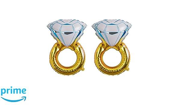 Hivexagon Anillo de Diamante Gigante, Globos de Aluminio para ...