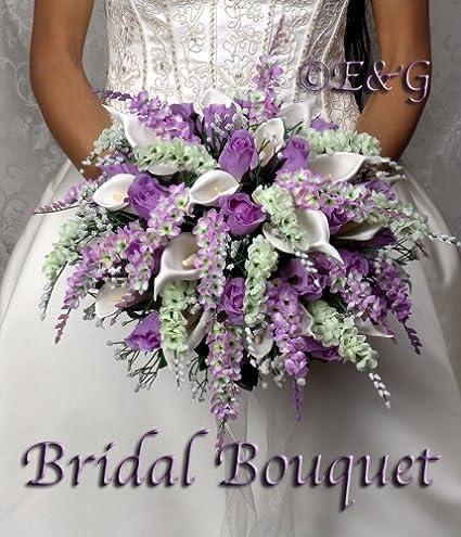 Amazon Wedding Bouquet Complete Package Bouquets Silk Bridal