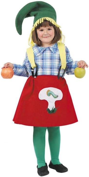 Disfraz granjera niña. Talla 5/6 años.: Amazon.es: Juguetes y juegos