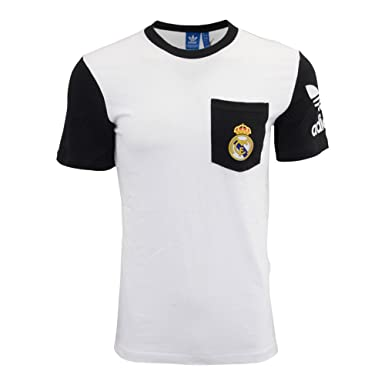 Adidas Originals Real Madrid Bolsillo Camiseta