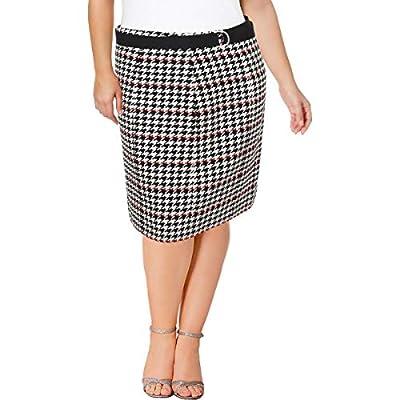 Hugo Boss BOSS Womens Vulnona Textured Knee-Length Pencil Skirt