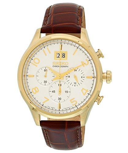 Seiko-Mens-SPC088P1-Classic-White-Watch