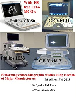 Performing echocardiography studies using machines of Major