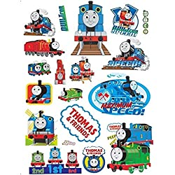 GoBuyMall Peel and Stick Wall Decals Stickers for Children & Kids & Baby & Nursery Wall Art Room Decor (Thomas and Friends)