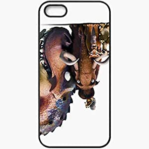 Personalized iPhone 5 5S Cell phone Case/Cover Skin Ice Age 4 Movies Tv Black