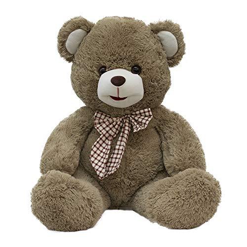 Urso Marrom Com Laço 45cm - Pelúcia