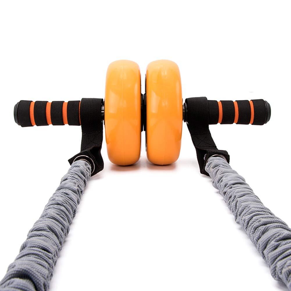 Asien Bandes de r/ésistance 2Pcs Latex dexercice pour Les Bandes de Remise en Forme de Roue Rouleau Abdominale Muscle Exercice Band