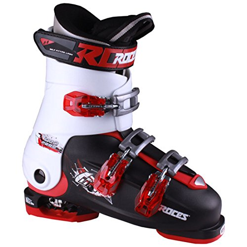 Roces Idea Free Kids Ski Boots 2016 - 2225/Black-White-Red by Roces