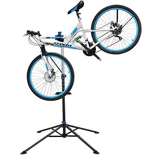 Topeakmart Portable Mechanic Bicycle Repair Stand Bike Rack Home Used Adjustable