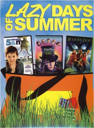 Lazy Days Of Summer (Boxset) - 5 Children and It/Charlie and Chocolate Factory/Scooby Doo