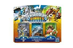 Skylanders Giants Battlepack #1 - Chop Chop - Dragonfire Cannon - Shroomboom