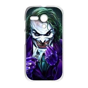 The Joker Motorola G Cell Phone Case White DIY Gift pxf005_0280458