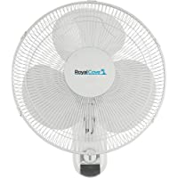 Royal Cove 2477854 3-Speed Oscillating Wall Mount Fan, 16