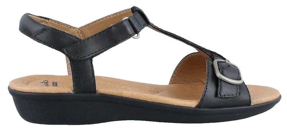 b826b202196 Clarks Womens Manilla Lift Sandal Black Size 7.5  Amazon.co.uk  Shoes   Bags