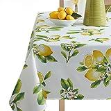 Benson Mills Lemon Bliss Tablecloth 52X70-INCH Multi