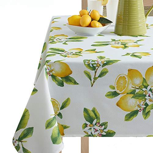 (Benson Mills Lemon Bliss Tablecloth 52X70-INCH Multi)