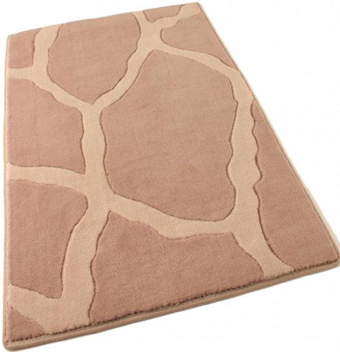 (Runner 2.5'x12' Stones Dusk Super Soft New Zealand Wool Animal Print Pattern Area Rug for Home with Premium BOUND Polyester Edges.)