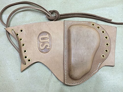 U.S. Garand Leather Sniper Rifle Cheek PAD - Reproduction, WWII Reproduction, WW2 Reproduction,WWII/WWI, Collectibles Goods, Collectibles Products,WWII repro, Leather Sniper ()