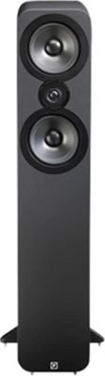 Q Acoustics 3050 - Altavoces (Speaker set unit, De 2 vías, Piso, 25W, 100W, 44-22000 Hz) Grafito