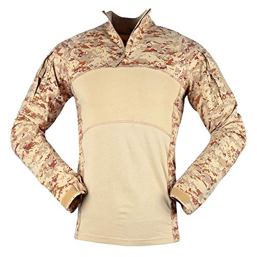 LANBAOSI Tactical Combat Dry Quick Shirt Military Duty Uniform Hunting T-Shirt