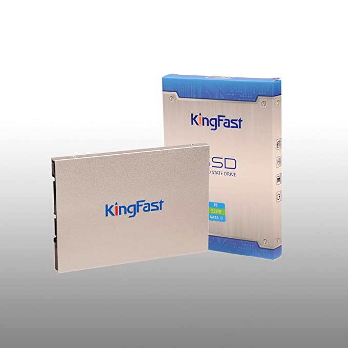 15 opinioni per KingFast SSD interno 32GB (2,5 Pollici, SATA III, 6Gb/s, MLC)Argento